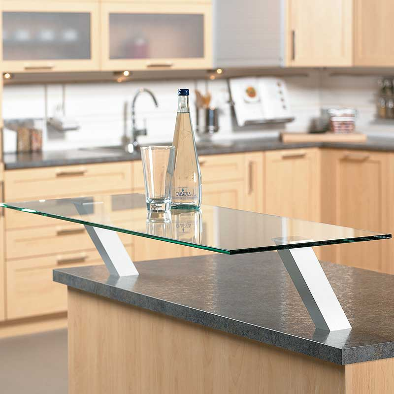 Kitchen Countertop Shelf Supports | Closet-Masters.com